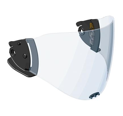 Panoramavisier PPSU, geprüft nach EN 14458 für Casco PF 1000